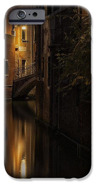 Venetian Canals iPhone Cases - Malvasia Vecchia iPhone Case by Marion Galt