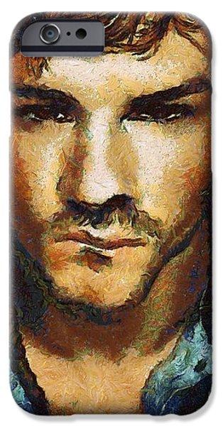 Man a la van Gogh iPhone Case by Gun Legler
