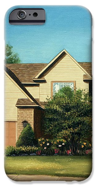 Manchester Home 2011 iPhone Case by Cecilia  Brendel