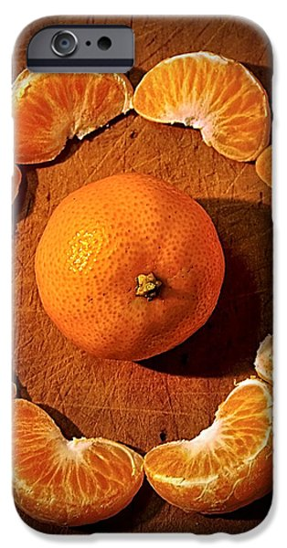 Mandarin - Vignette iPhone Case by Kaye Menner