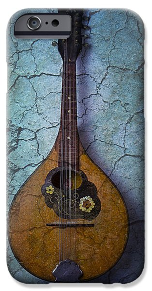 Mysteries iPhone Cases - Mandolin Mystery iPhone Case by Garry Gay