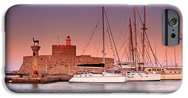 Mandraki iPhone Cases - Mandraki Harbour iPhone Case by Ollie Taylor