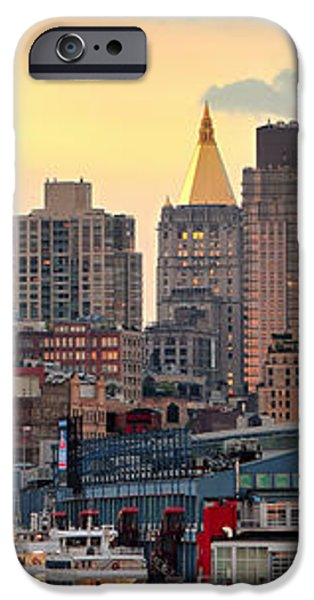 Manhatan NY  iPhone Case by Emmanuel Panagiotakis
