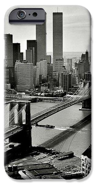 Manhattan 1978 iPhone Case by Benjamin Yeager