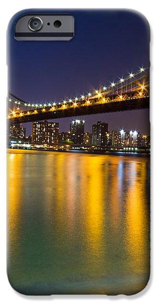 Manhattan Bridge iPhone Case by Mircea Costina Photography