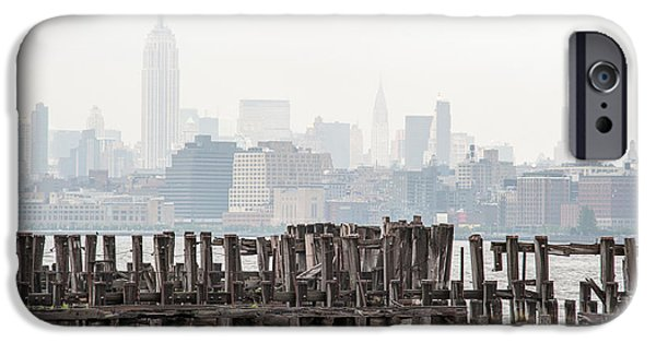 River View iPhone Cases - Manhattan Calls II iPhone Case by Ray Warren