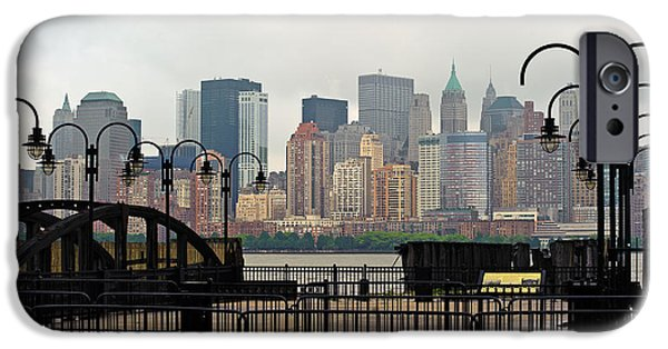 River View iPhone Cases - Manhattan Calls  iPhone Case by Ray Warren