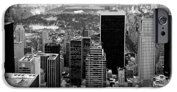 Dave iPhone Cases - Manhattan iPhone Case by Dave Bowman