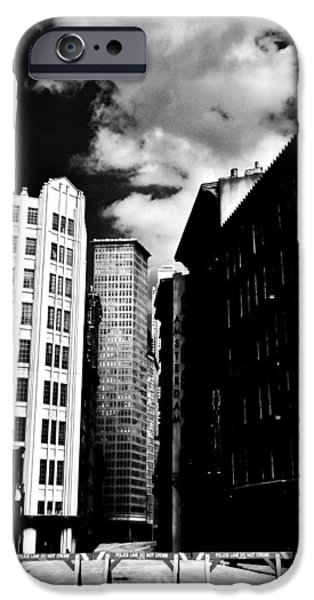 Manhattan Highlights B W iPhone Case by Benjamin Yeager