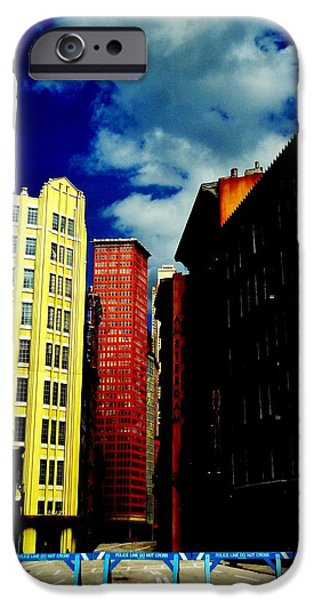Crosswalk iPhone Cases - Manhattan Highlights iPhone Case by Benjamin Yeager