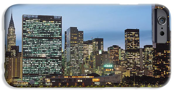 Nation iPhone Cases - Manhattan, Nyc, New York City, New York iPhone Case by Panoramic Images