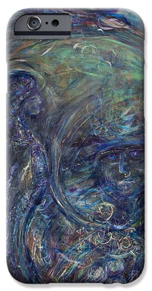 Flight iPhone Cases - Manifesting Flight iPhone Case by Angie Bray-Widner