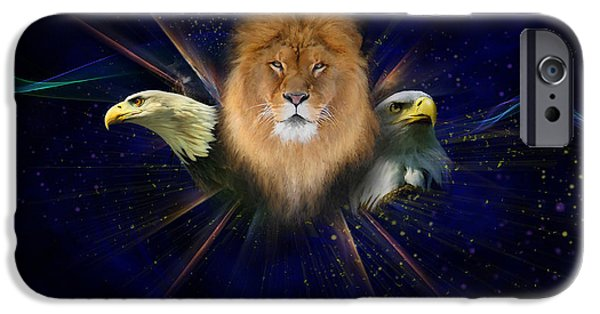 Eagle iPhone Cases - Manifold Presence iPhone Case by Tamer and Cindy Elsharouni