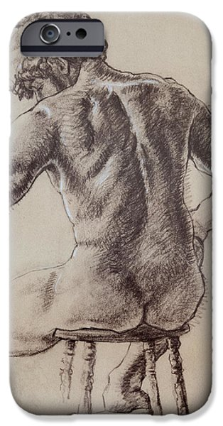 Man's Back iPhone Case by Sarah Parks