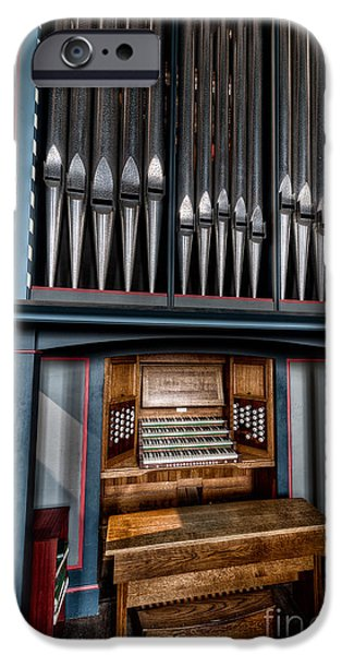 Manual Pipe Organ iPhone Case by Adrian Evans