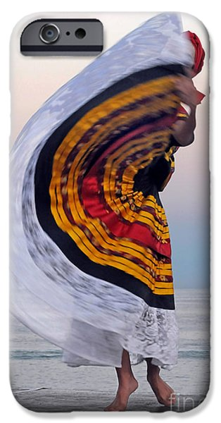 Dance iPhone Cases - Many Colors iPhone Case by Dan Holm