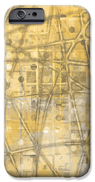 Map of Secrets  iPhone Case by Ann Powell