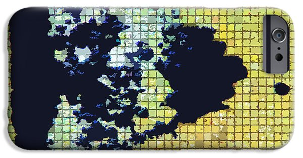 Abstractions Digital iPhone Cases - Mapping the Universe iPhone Case by John Lautermilch