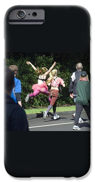 Marathon Grand Jete  iPhone Case by Daniel Furon