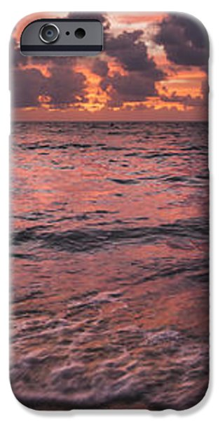 Marathon Key Sunrise Panoramic iPhone Case by Adam Romanowicz