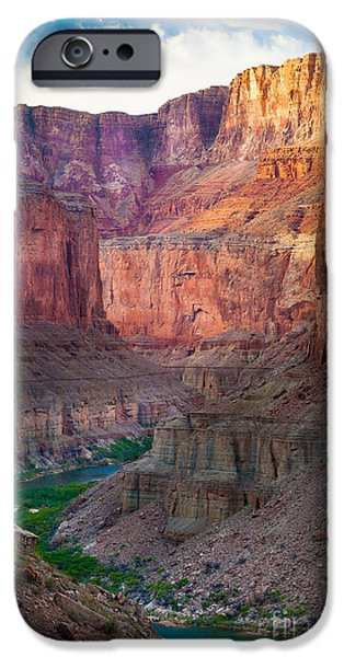 Solitude Photographs iPhone Cases - Marble Cliffs iPhone Case by Inge Johnsson