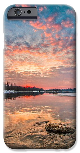 Marble sky II iPhone Case by Davorin Mance