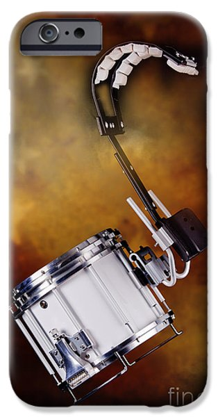Marching Band Photographs iPhone Cases - Marching Band Snare drum Photograph in Color 3329.02 iPhone Case by M K  Miller