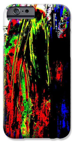 Sacrifice Mixed Media iPhone Cases - Marching To The Last Sacrifice iPhone Case by Sir Josef Putsche