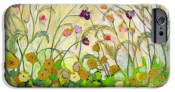 Cosmos Paintings iPhone Cases - Mardi Gras iPhone Case by Jennifer Lommers
