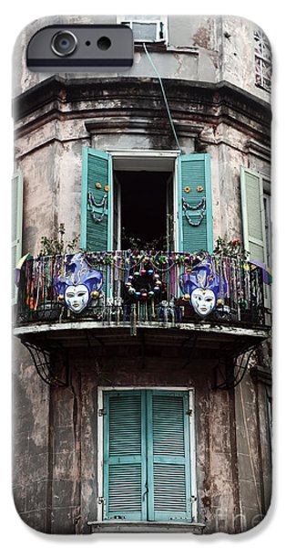 Big Easy iPhone Cases - Mardi Gras iPhone Case by John Rizzuto