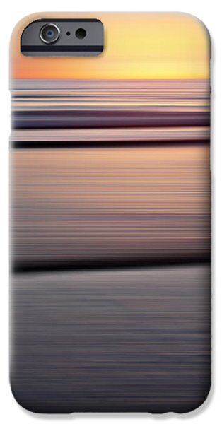 Ocean Sunset iPhone Cases - Mare 137 iPhone Case by Steffi Louis