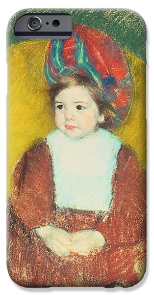 Child iPhone Cases - Margot iPhone Case by Mary Stevenson Cassatt