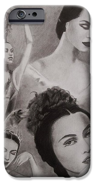 Maria Tallchief iPhone Case by Amber Stanford