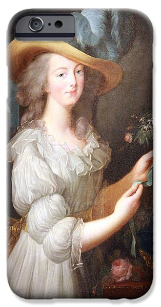 Recently Sold -  - Painter Photographs iPhone Cases - Marie Antoinette iPhone Case by Cora Wandel
