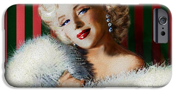 Theo Danella iPhone Cases - Marilyn 126 d 3 iPhone Case by Theo Danella