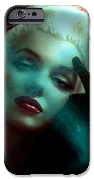 Marilyn 128 Tryp  iPhone Case by Theo Danella