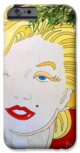 Marilyn iPhone Case by Ethna Gillespie