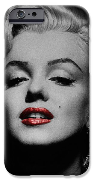 Marilyn Monroe 3 iPhone Case by Andrew Fare