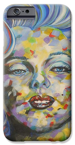Mr. President iPhone Cases - Marilyn Monroe iPhone Case by David Keenan