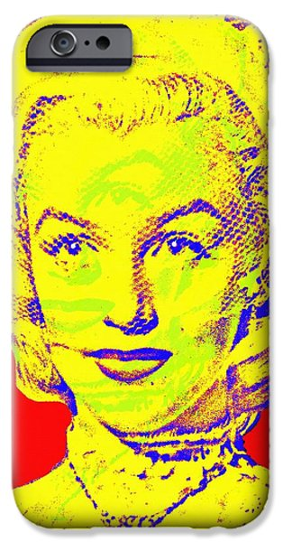 Choker iPhone Cases - Marilyn Monroe in Gentlemen Prefer Blondes iPhone Case by Art Cinema Gallery