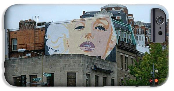 Cora Wandel iPhone Cases - Marilyn Monroe In Woodley Park iPhone Case by Cora Wandel