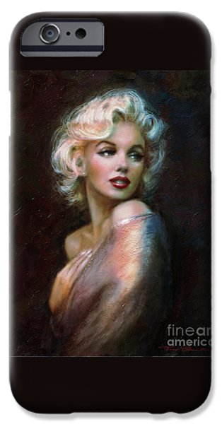 Theo Danella iPhone Cases - Marilyn WW  iPhone Case by Theo Danella