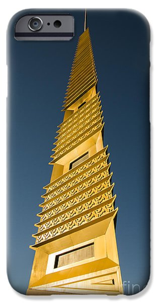 Marin County Civic Center Tower iPhone Case by David Bearden