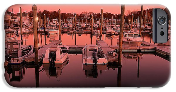 Warwick iPhone Cases - Marina Golden Hour iPhone Case by Lourry Legarde