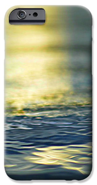 marine blues iPhone Case by Laura  Fasulo