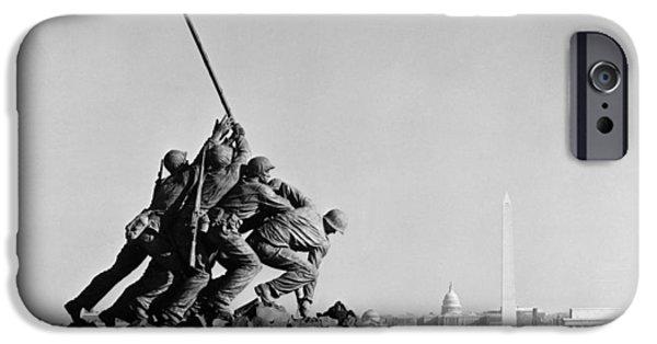 D.c. iPhone Cases - Marine Corps War Memorial iPhone Case by Granger