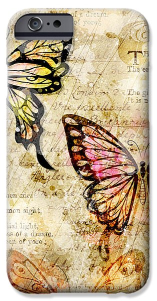 Poetic iPhone Cases - Mariposa Equinox iPhone Case by Gary Bodnar