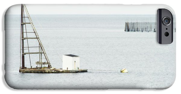 Sea Platform iPhone Cases - Maritime Dreams... iPhone Case by Nina Stavlund