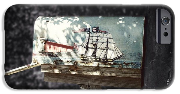 Tall Ship iPhone Cases - Maritime Mail iPhone Case by Natasha Marco