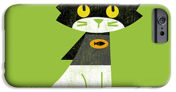 Costume iPhone Cases - Mark the batcat iPhone Case by Budi Kwan